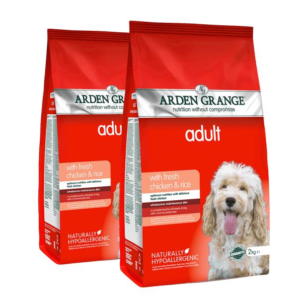 Arden Grange Adult Chicken and Rice Dog Food