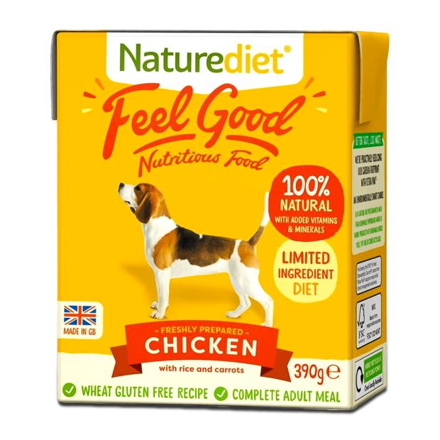 Naturediet Feel Good Chicken Dog Food