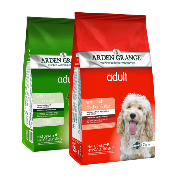 Arden Grange Adult Lamb and Rice and Chicken and Rice Mixed Deal