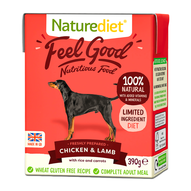 Naturediet Feel Good Chicken and Lamb Dog Food
