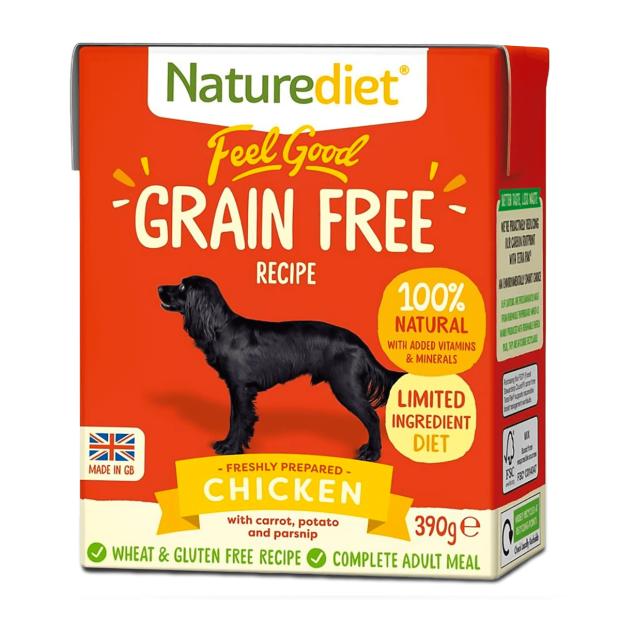 Naturediet Feel Good Grain Free Chicken Dog Food