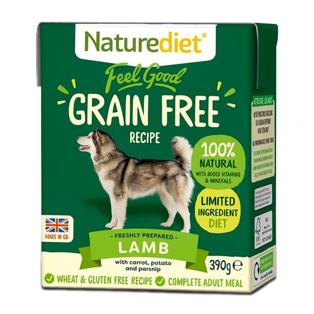 Naturediet Feel Good Grain Free Lamb Dog Food