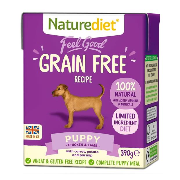 Naturediet Feel Good Grain Free Puppy Dog Food