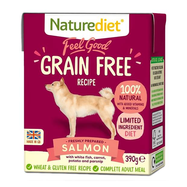 Naturediet Feel Good Grain Free Salmon Dog Food