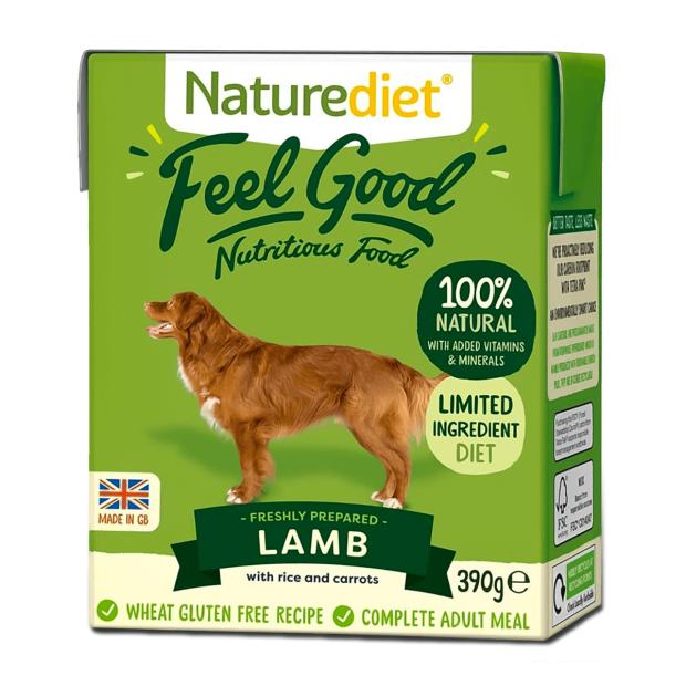 Naturediet Feel Good Lamb Dog Food