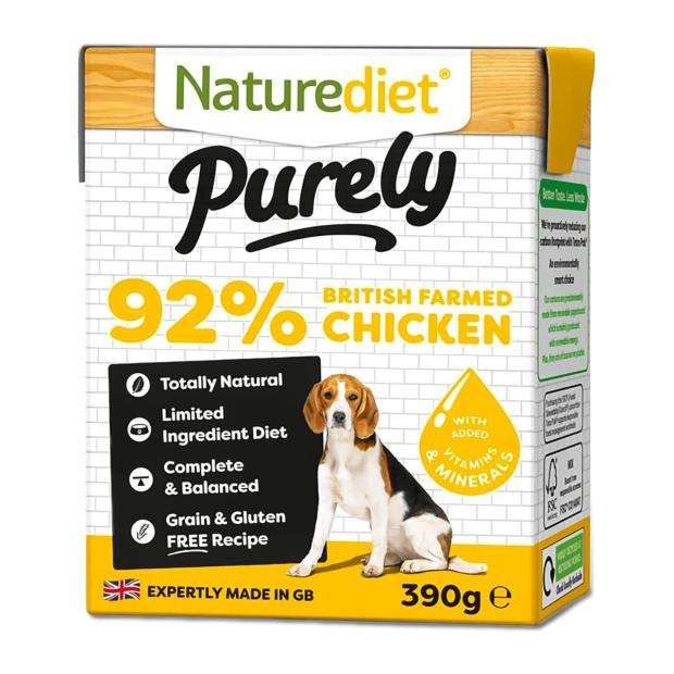 Naturediet Purely Chicken Dog Food