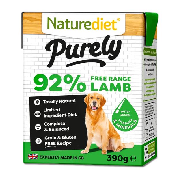 Naturediet Purely Lamb Dog Food