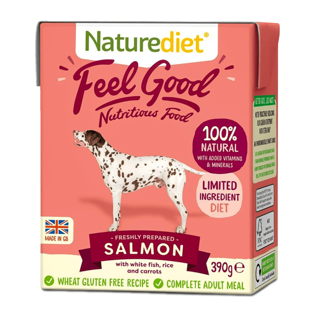 Naturediet Feel Good Salmon Dog Food