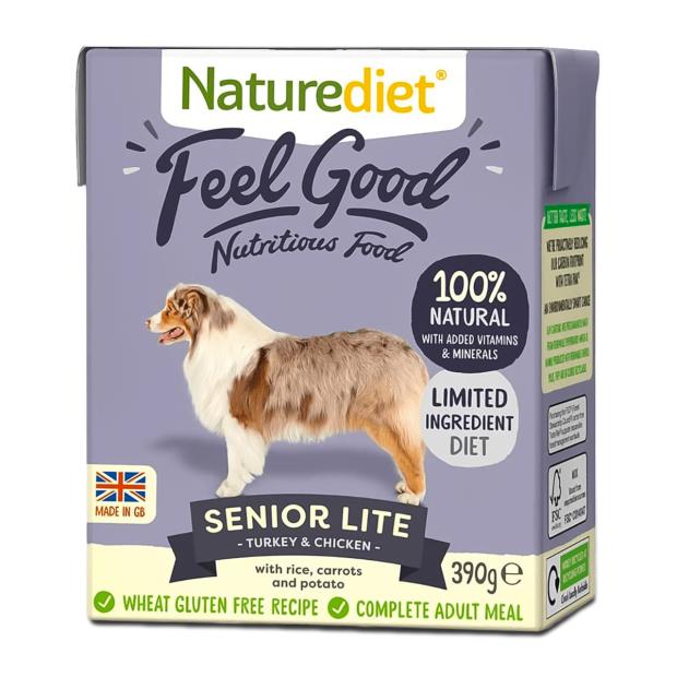 Naturediet Feel Good Senior Lite Dog Food
