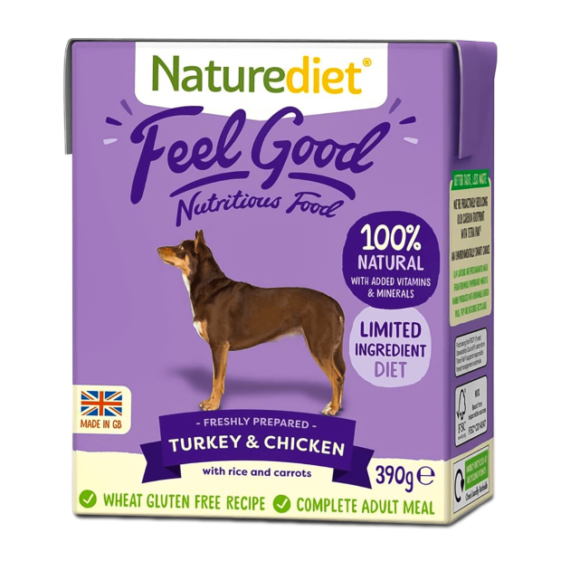 Naturediet Feel Good Turkey and Chicken Dog Food